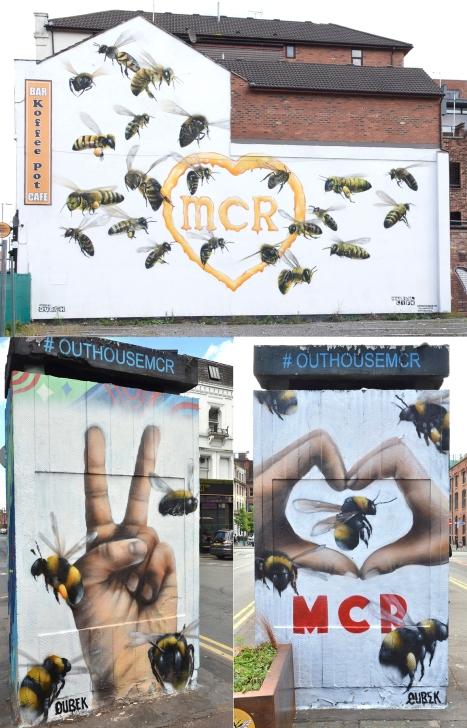 Koffee Pot - Bees Mural