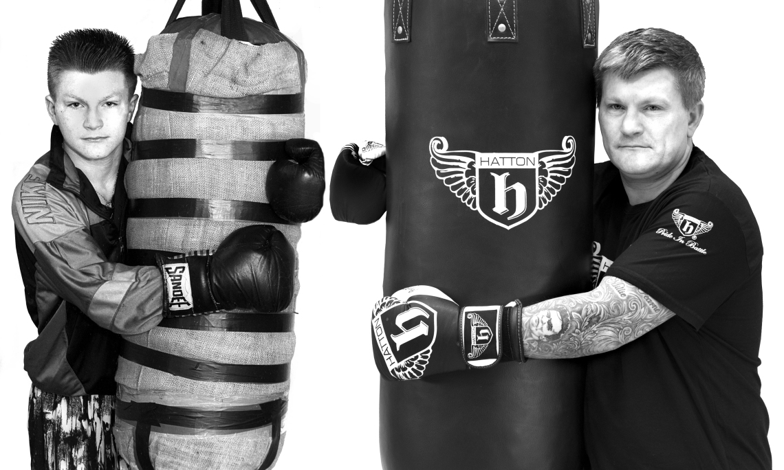 Ricky Hatton-Then & Now