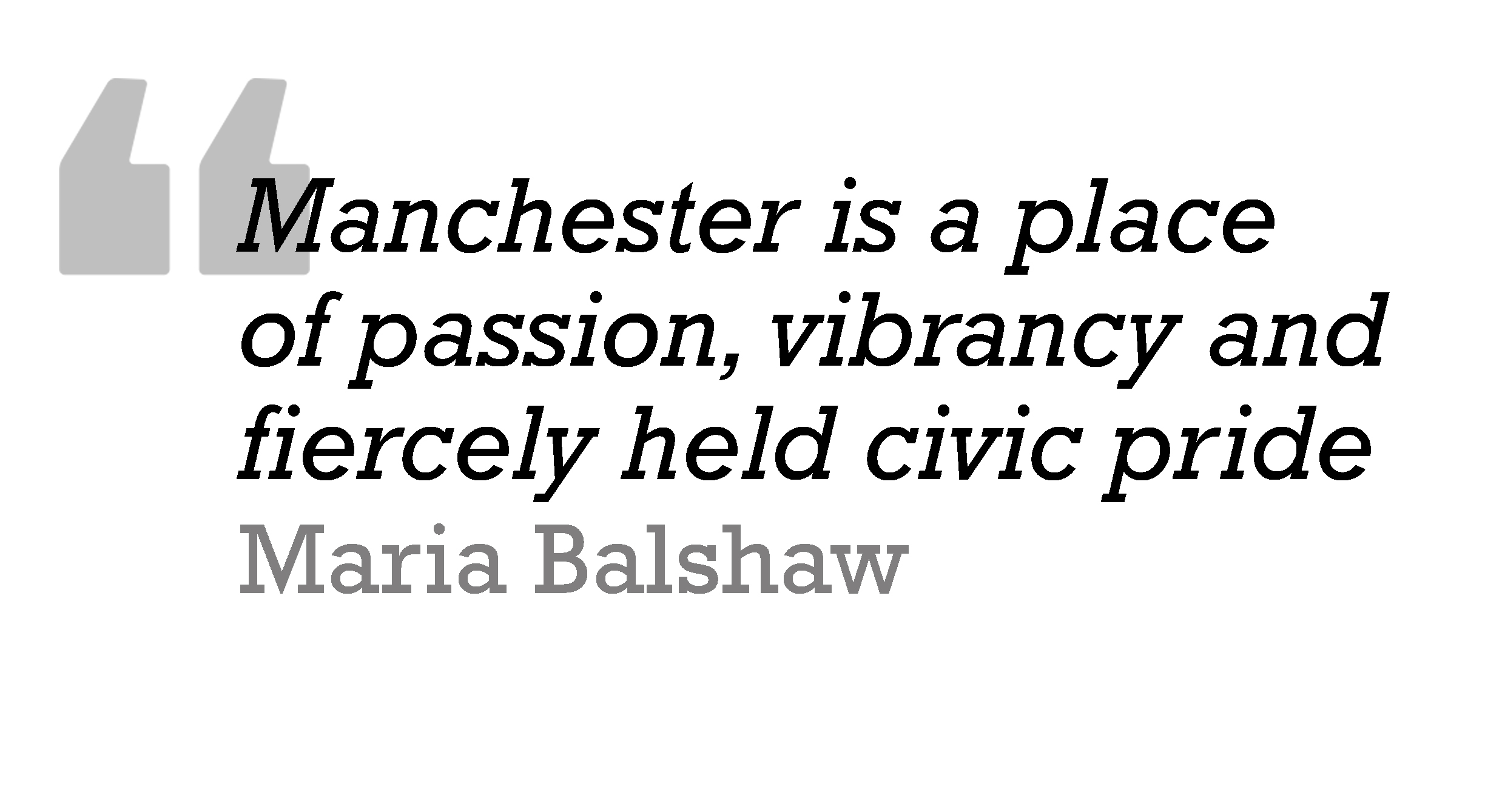 Balshaw Quote