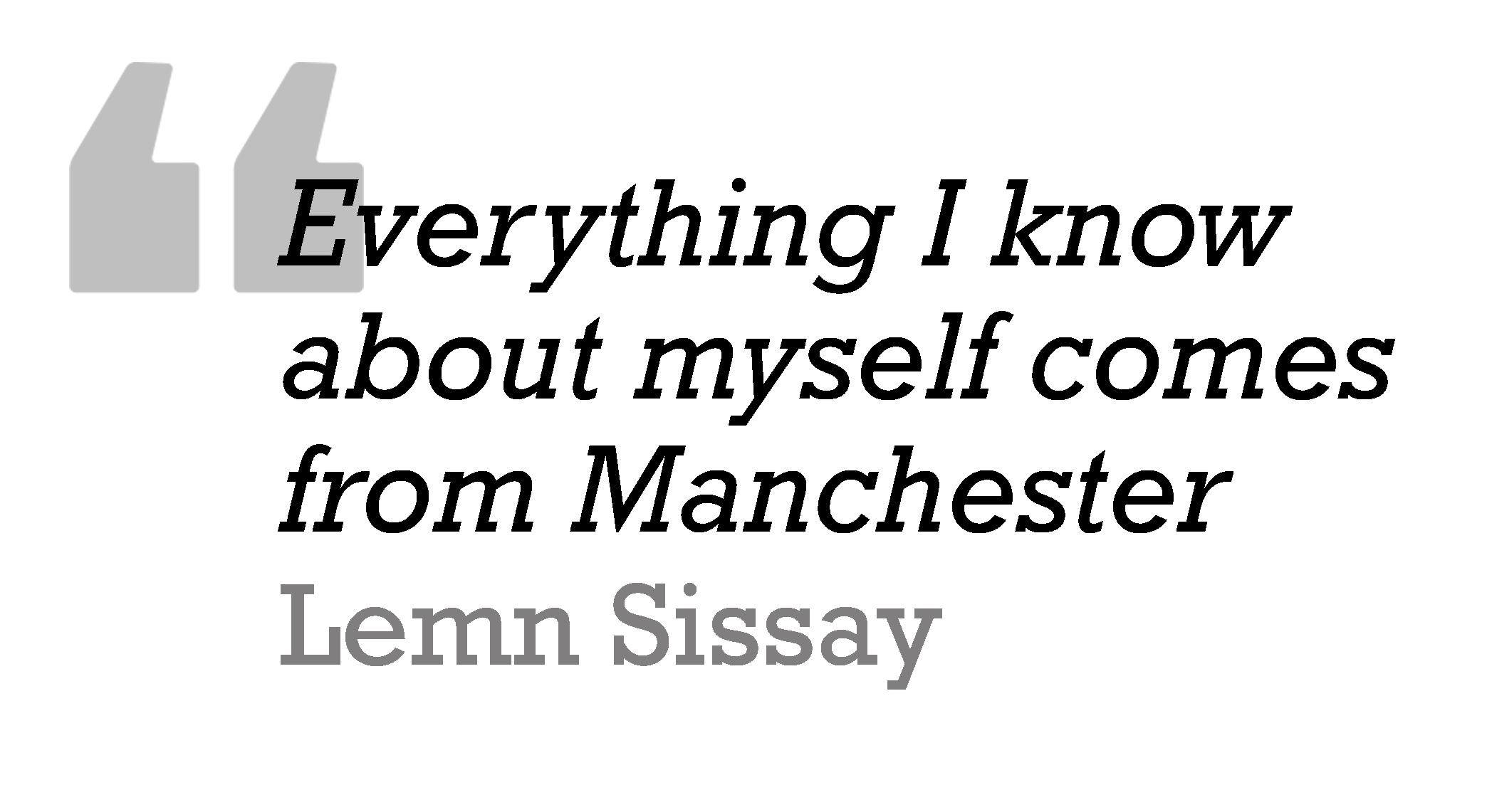 Sissay Quote